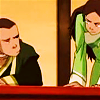 januar: Sokka and Katara from Avatar: the Last Airbender giving each other a Look ([atla] water siblings)
