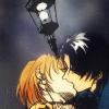 aphonicbabel: (Fake Kiss Under Lamp)