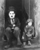 colorwheel: charlie chaplin and jackie coogan in THE KID (chaplin and coogan)