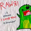 astro_noms: (dinosaurs can love too)
