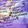 phinnia: map of japan on a purple background (japan-map)