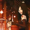 januar: June from Avatar: the Last Airbender holding a cup with the liquid falling back in ([atla] june)