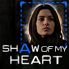 pendrecarc: Person of Interest: Shaw of my heart, shaw in blue outline (Shaw of my heart)