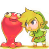 stealth_noodle: Link would punch this jelly-beast if he didn't know it would shock him. (adorably irked)