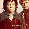 "applecameron: Frodo-Sam ""believe"" LOTR LJ Icon by Caryn's Corner (caryns_corner-believe-frodosam)"