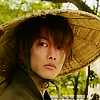 x_battousai: Kenshin turning around, appearing puzzled or curious (Curious)