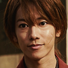 x_battousai: Kenshin with a small but genuine smile on his face (Smile)