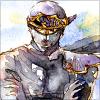 stealth_noodle: Shadow in suspicious, watercolor glory. (watercolor ninja)
