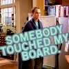 "travelingmonkey: Big Bang Theory; Sheldon ""somebody touched my board."" (bbt_touchedBoard)"