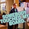 "travelingmonkey: Big Bang Theory; Sheldon ""somebody touched my board."" (bbt_touchedBoard)"