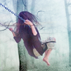 morganichele: girl swinging  (Default)