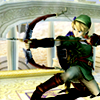 deaalmon: photo of link with a bow (link is original BAMF)