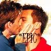 witchy: (Jack/ David 'SDCC '09' *kiss*)