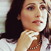 st_aurafina: Headshot of Lisa Cuddy, chin resting on her hand.  (House: Cuddy)