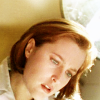 st_aurafina: Dana Scully, looking down over an autopsy table  (X-Files: Dana)