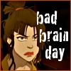 terajk: Text: Bad brain day. Azula, having one. (azula: bad brain day)