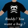 mific: (Panda hug t-shirt)