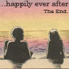 "muccamukk: Misty and Colleen lying on a beach at sunset. Text: ""...happily ever after. The end."" (Marvel: Happily Ever After)"