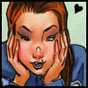 muccamukk: Colleen looking at something she likes, hands on her cheeks. a little heart in the air. (Marvel: Heart)