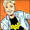 riseupwithfists: picture of wondergirl when she was a wee queerlicious thing (wonderdyke!)