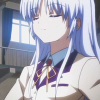 clumsyangel: Kanade with her head raised proudly, smiling. (Alive)