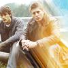 calime: Samand Dean sitting in sunlight (Sam&Dean sunlight)