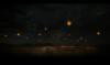 madimpossibledreamer: Paper lanterns floating over a fleet of ships. (lanterns)