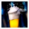 automaticdoor: beer overflowing from bottle (beersplosion)