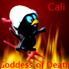 calime: (Calime goddess of death)