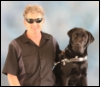 the_guide_dog_chronicles: Karl and Tucker, July 2013, Class #379 Graduation, Guide Dogs of America (GDA, graduation, Karl, Tucker)