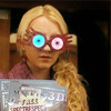 wireandroses: luna from harry potter wearing silly glasses (perhaps the world will make sense throug, luna)
