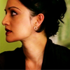 goodbyebird: The Good Wife: Close-up of Kalinda, face turned to the side. (TGW Kalinda)