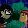 musesfool: Robin and Starfire (Teen Titans animated) (a star between our hands)