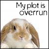 mer: bunny (my plot is overrun)