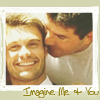 jlh: ryan and simon canoodling (Ryan and Simon imagine me and you)