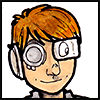 shanaqui: Drawn icon of me looking cyberpunky ((Me) Cyberpunk short hair)