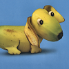 culurien: Dog made out of a banana! (bananadog)