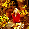 tree_and_leaf: Amy surrounded by sunflowers (sunflowers)
