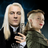 pristineungift: (hp: lucius narcissa back to back)
