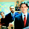 traxicons: Hotch, Reid, and Morgan.  Criminal Minds 1x01. (CM men)