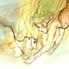 monsterboy: Terra and Celes from FFVI catching each other as they fall. (terra/celes)