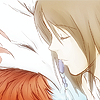 monsterboy: Yuna and Valefor from FFX sharing an almost-kiss. (yin/yang)