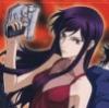 etienneofthewestwind: Picture of Gundam 00's Tierria Erde in drag, with handgun (drag tierria)