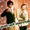 severity_softly: (it crowd - act normal)
