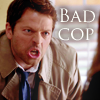 severity_softly: (spn - cas bad cop)