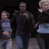 jadelennox: leverage: Eliot, Hardison, Parker running from an explosion (leverage: running)