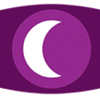 fan_byproducts: WTNV logo: white crescent moon on purple background (logo)