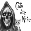 lillian13: (pratchett cats death)