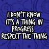 "myxstorie: Doctor Who: ""It's a thing in progress; respect the thing!"" (Default)"