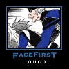 myaru: (Face first.)